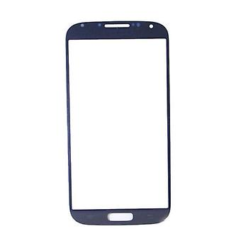 Spullen Certified® Samsung Galaxy S4 i9500 A + kwaliteit Front glas - blauw