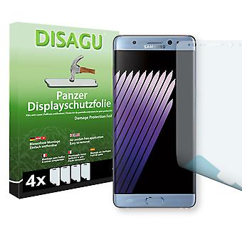 Samsung Galaxy touch FE display protector - Disagu tank protector protector (deliberately smaller than the display, as this is arched)