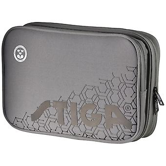 Stiga Reverse Double Wallet Table Tennis Bag Grey/Black