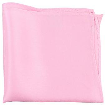 Knightsbridge Neckwear Fine Silk Pocket Square - Light Pink