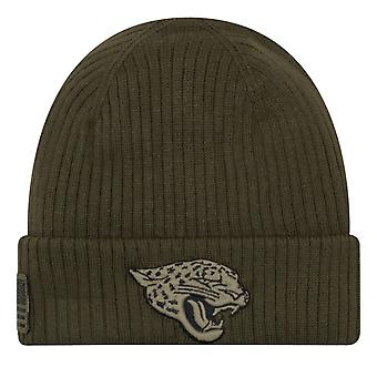 New era salute to service winter Hat - Jacksonville Jaguars