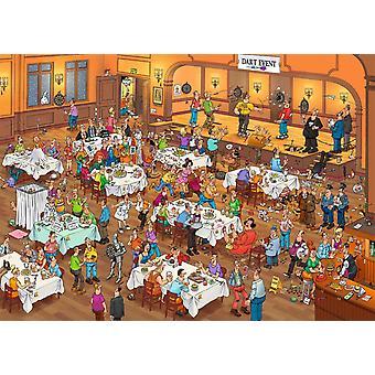 Jan Van Haasteren Darts Jigsaw Puzzle (1000 Pieces)