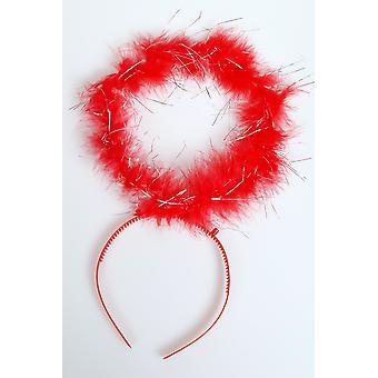 Haar-Accessoires Angel halo rot