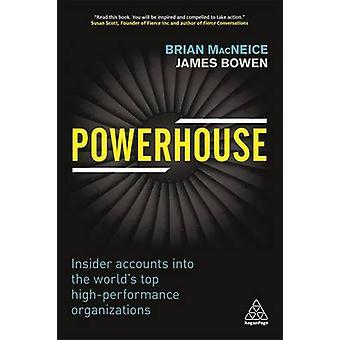 Powerhouse - Insider représente en haut de la page haute Performance du monde ou