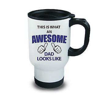 Dies sieht wie ein super Papa Metal Travel Mug