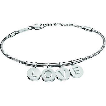 Calvin Klein Silver Stainless Steel Love Charm WoMen's Bracelet KJ6MMB000100