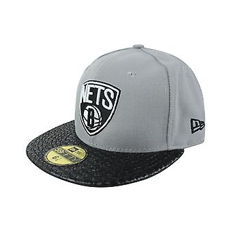New Era 59Fifty NBA Brooklyn Nets Cap grau