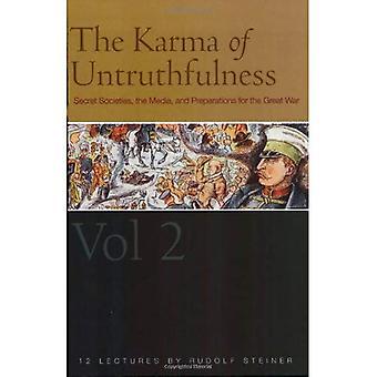 Osannfärdighet Karma: Pt. 1 v. 2: hemliga sällskap, Media och förberedelserna inför det stora kriget