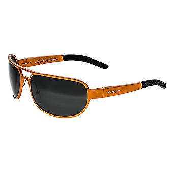 Breed Xander Aluminium Polarized Sunglasses - Orange/Black