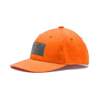 PUMA youth utility patch Snapback Cap kids vibrant Orange