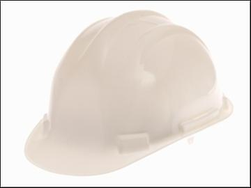 Scan Deluxe Safety Helmet White