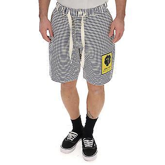K-way White/blue Cotton Shorts