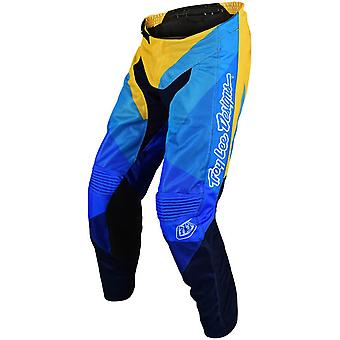 Troy Lee Designs Yellow-Blue 2019 GP Air Jet MX Pant