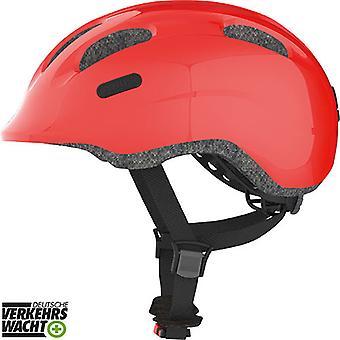 Abus smiley 2.0 sykkel hjelm for barn / / glitrende rød