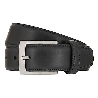 SCHUCHARD & FRIESE Belt pasek skórzany męski czarny 7983