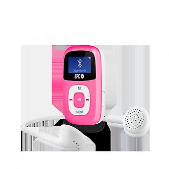 SPC 8668P 8 GB Bluetooth MP3-Player FM rosa