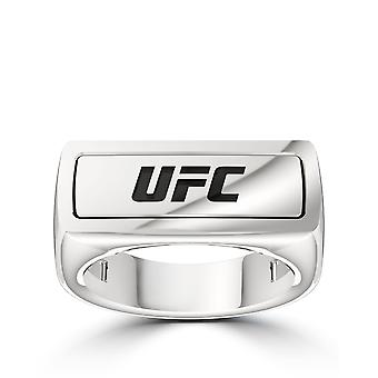Ufc - Ufc Classics Ring In Sterling Silver
