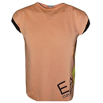 EA7 Girls Peach & Black Outfit Set