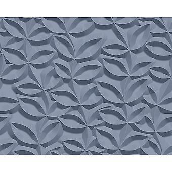 A.S. skapande som skapande 3D-effekt lövmönster tapet sten blommig Leaf modern texturerat 329813