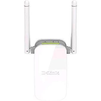 D-link wireless range extender n300 1 port 10/100 2 external antennas wps