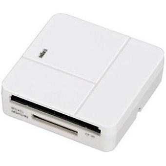 External memory card reader USB 2.0 Hama 94125 White