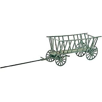 MBZ 80123 H0 hay wagon open (real wood)