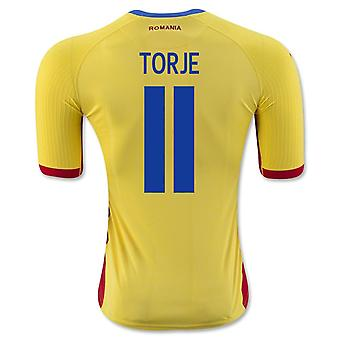 2016-17 Romania Home Shirt (Torje 11)