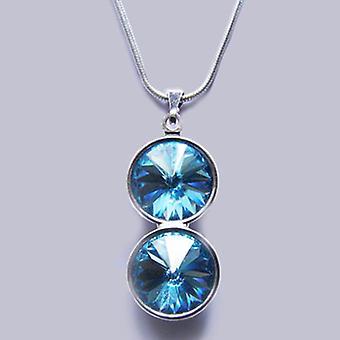 Collier pendentif avec cristaux Swarovski PMB 3.2
