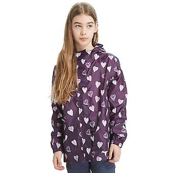 Peter Storm Girls' Patterned Packable Jacket