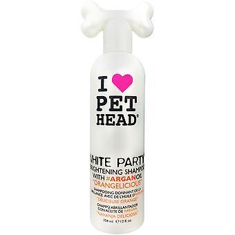 Pet Head Shampoo Brightening White Party 354ml