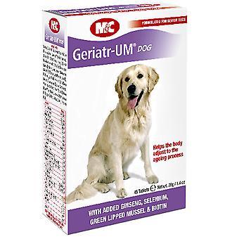 Vet Iq hund Senior pleje Supplement 45 tabletter