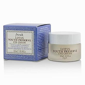 Fresh Lotus Youth Preserve Eye Cream - 15ml/0.5oz