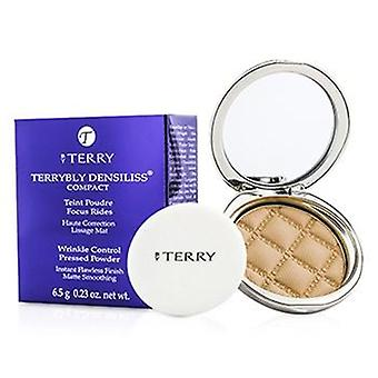 By Terry Terrybly Densiliss Compact (Wrinkle Control Pressed Powder) - # 3 Vanilla Sand - 6.5g/0.23oz