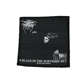Darkthrone A Blaze In The Northern Sky Woven Patch