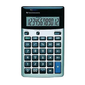テキサスインスツル メンツ デスク電卓 12 桁表示 (TI5018SV)