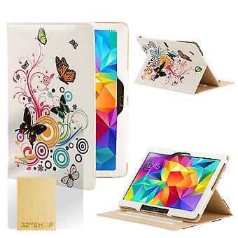 Design bog case cover til Samsung Galaxy Tab S 8,4
