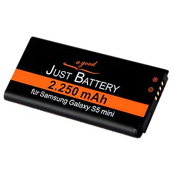 Battery for Samsung Galaxy S5 mini GT g800F