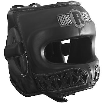 Ringside Youth Face Saver Boxing Headgear - Black