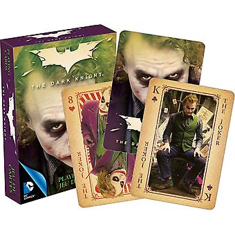 De Joker Heath Ledger set van 52 speelkaarten + jokers (nm)