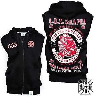 West Coast Choppers vest Chapel Sleeveles