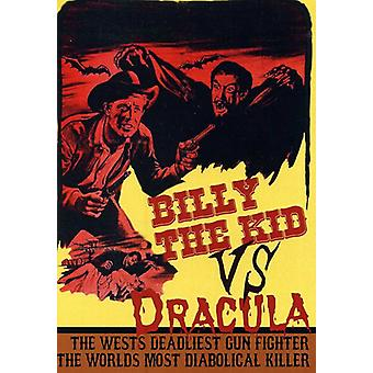 Billy Kid vs Dracula [DVD] USA importerer
