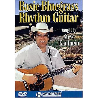 Grundlæggende Bluegrass rytmeguitar [DVD] USA importerer