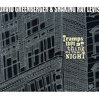 David Greenberger & Shaking Ray Levis - vagabonder at gå tror i nat [CD] USA importen
