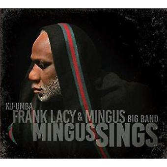 Frank Lacy & Mingus Big Band - Mingus synger [CD] USA import