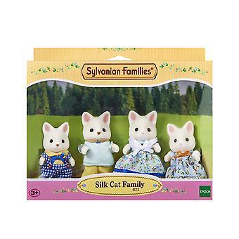 عائلة القطط الحرير الأسر سيلفانيان