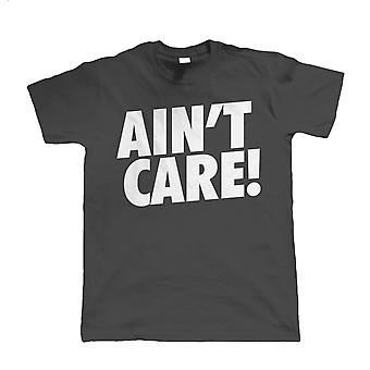 Ain't Care Mens Funny Biker T Shirt | Motorbike Racing Racer Enthusiast Motorcycle Club Chopper Cafe Racer Superbike Gentleman Biker | Cool Birthday Christmas Gift Present Him Dad Husband Son