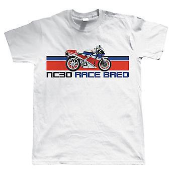 NC30 RAS gefokt, Mens Biker T Shirt