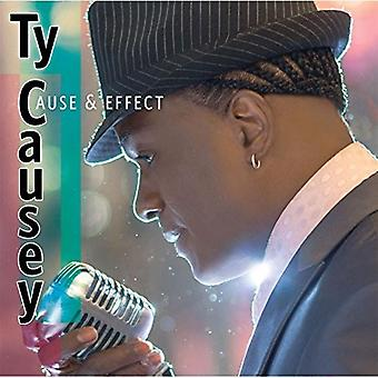 Ty Causey - importation USA Cause effet & [CD]