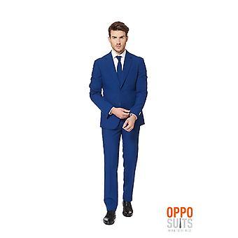 ネイビー ロイヤル スーツ ダーク ブルー Opposuit スリムライン プレミアム 3 ワンピース EU サイズ