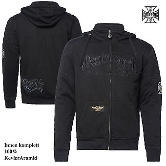 West Coast choppers Zip Hoody Por Vida Kevlar